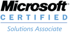 Microsoft Solutions Associate Badge