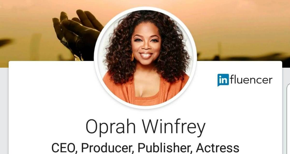 Wieso Oprah aus Deinem LinkedIn-Feed verschwindet