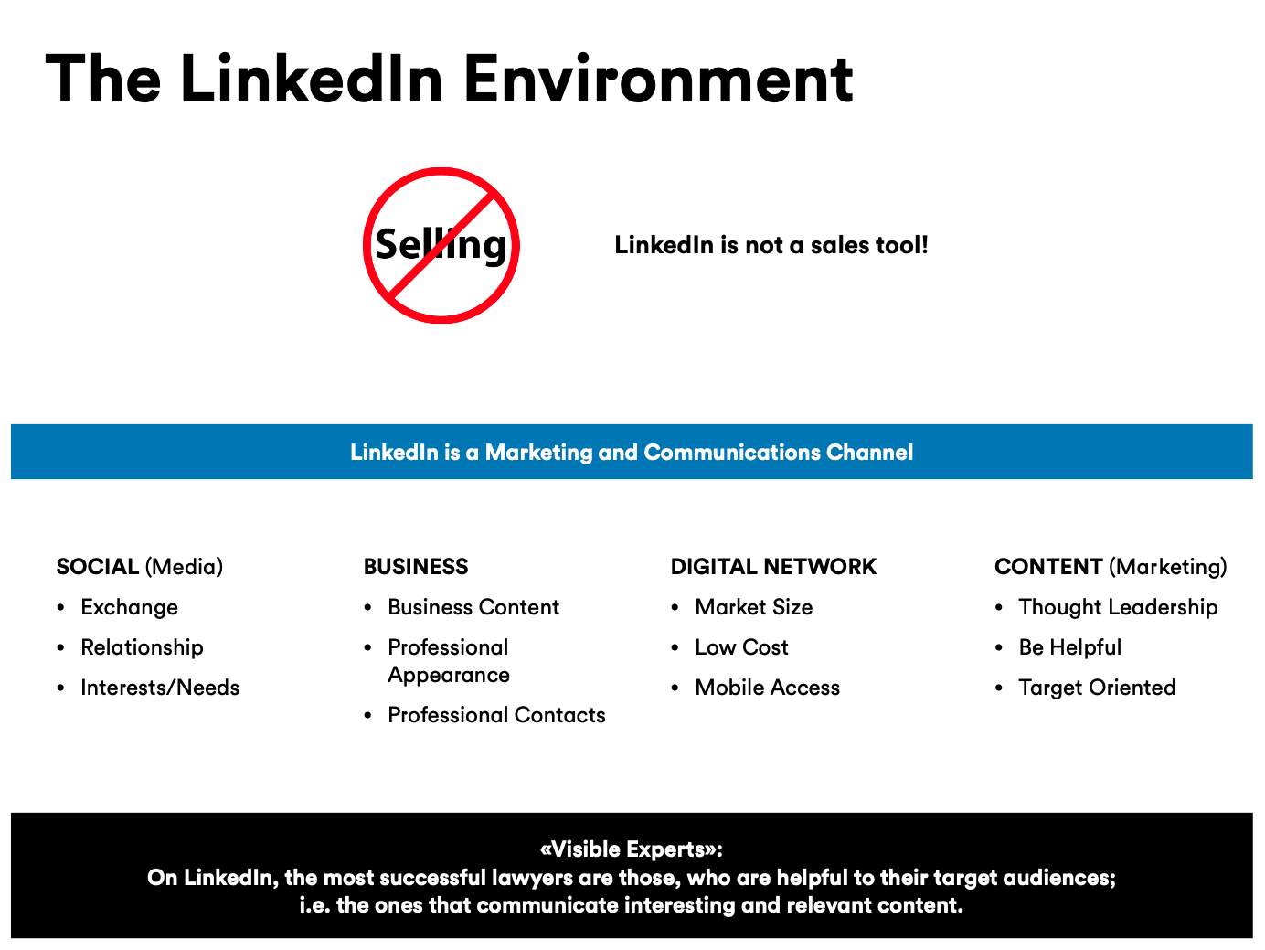 LinkedIn Anwalt Kanzlei Lawyer Marketing digital HeadStarterz Tobias Steinemann Philipp Roth Social Media Kommunikation