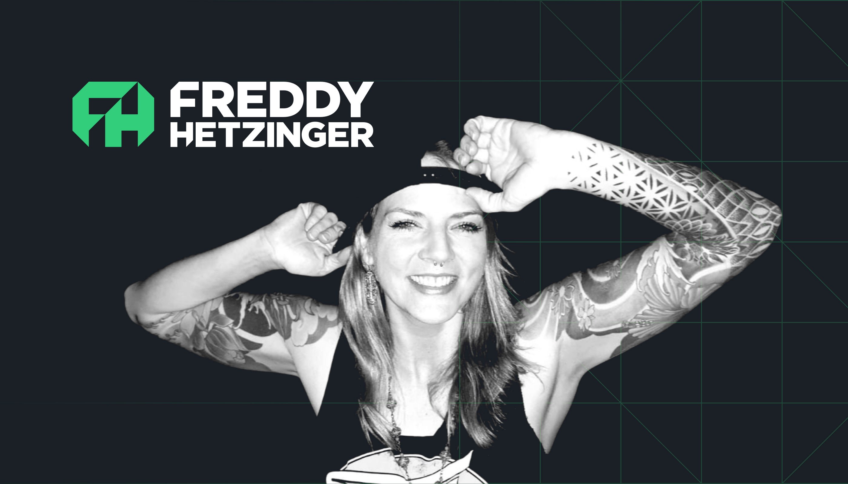 Logo design for Freddy Hetzinger