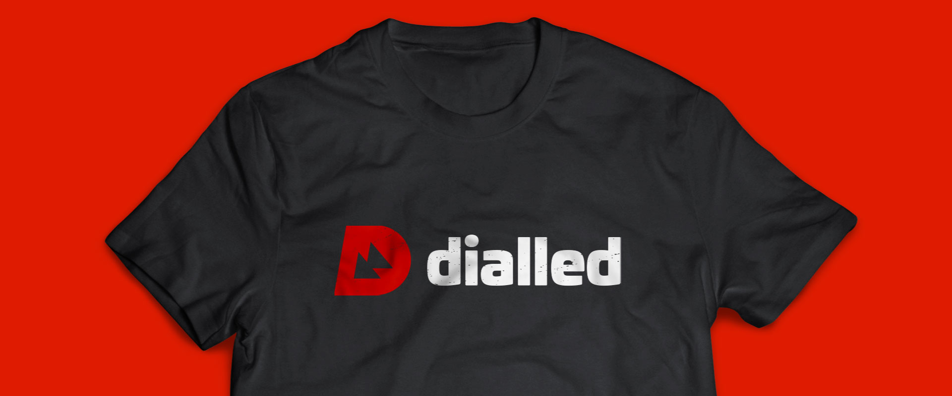 dialled - t-shirt