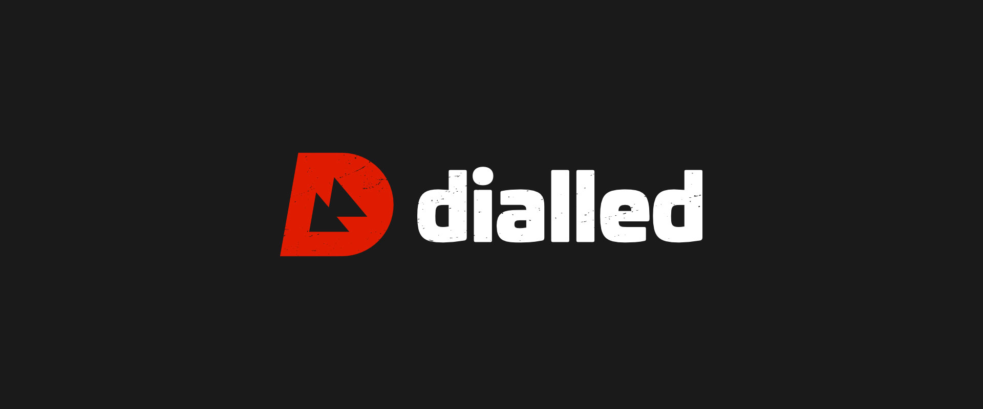 dialled - logo design
