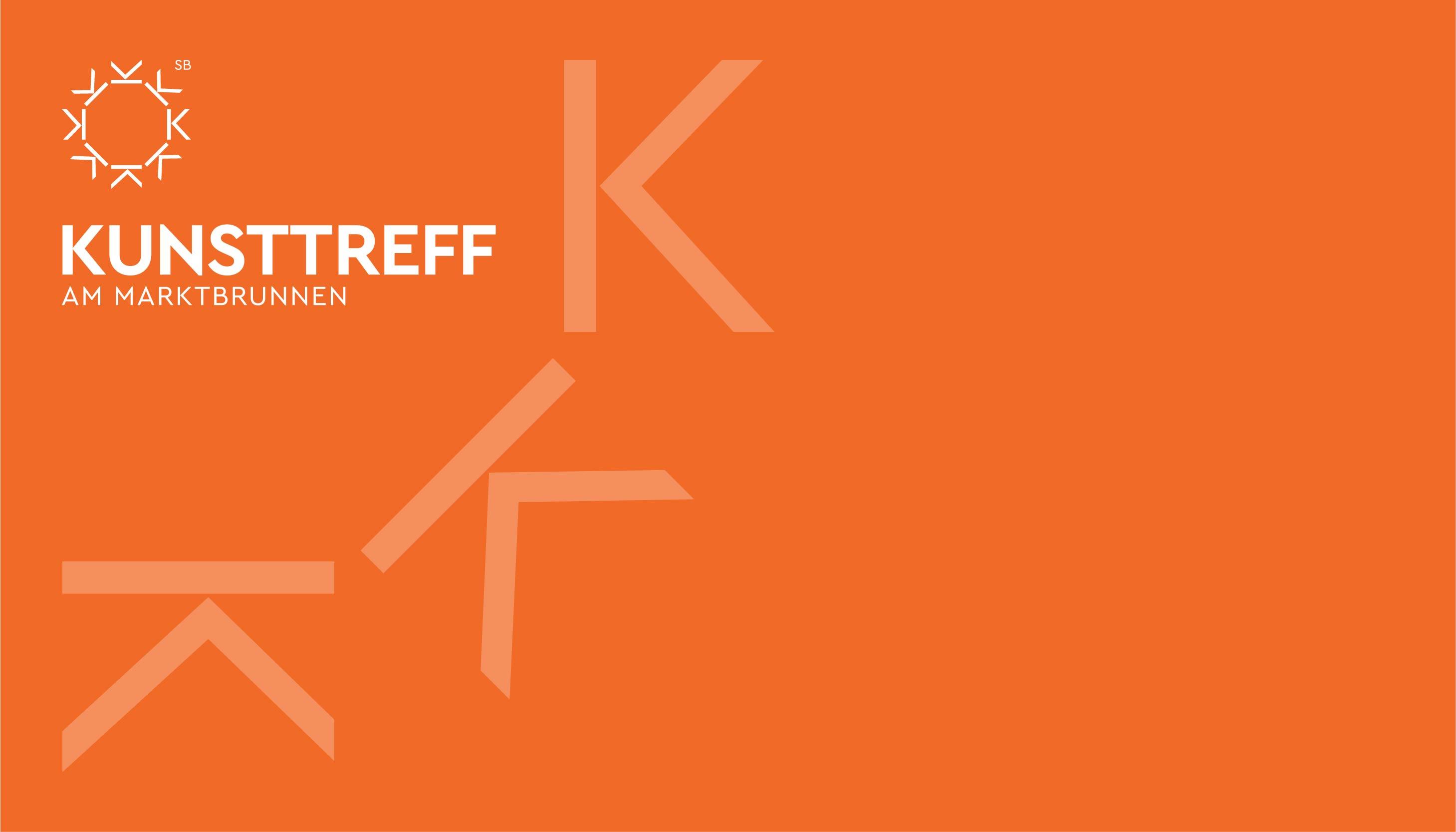 Kunsttreff am Marktbrunnen - logo design