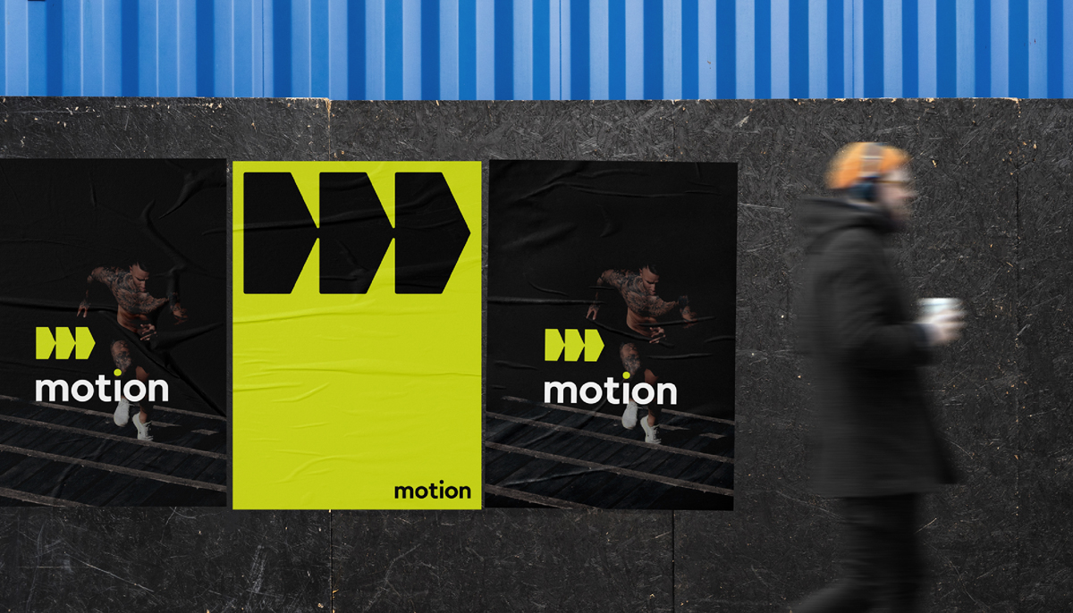 motion - logo design