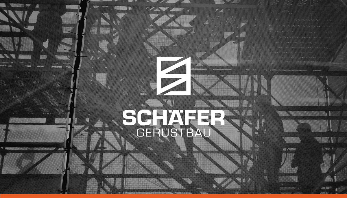 Schäfer Gerüstbau - Logo Design