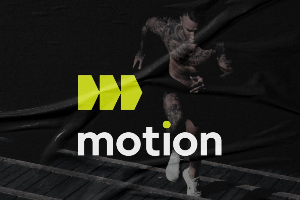 motion Sports Logo Design