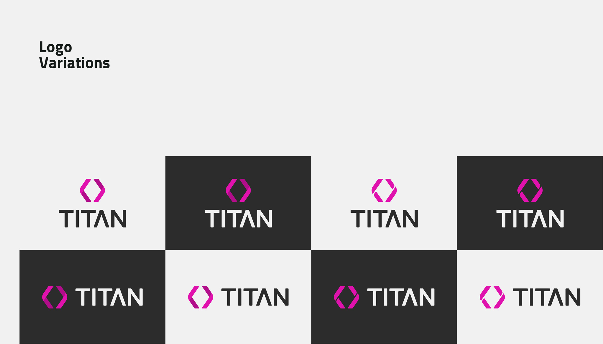 TITAN - Logo Variations