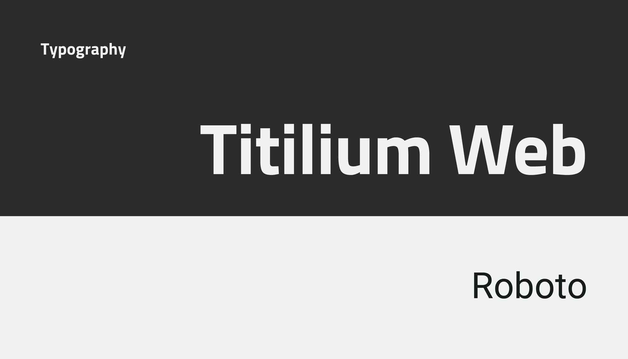 TITAN - Typography
