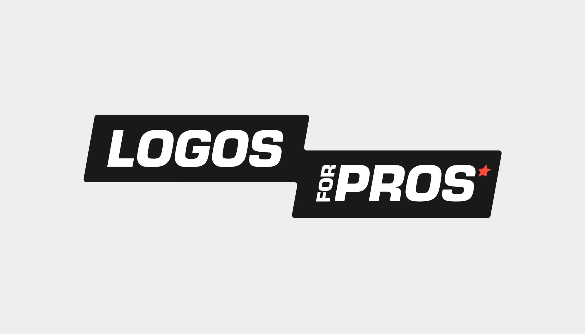 Logos for Pros - horizontal lockup