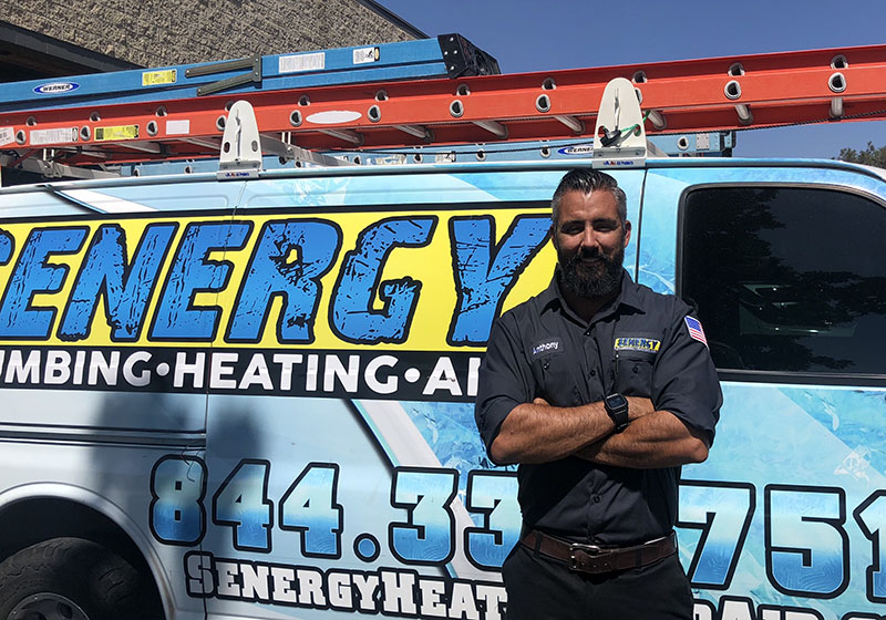 Anthony Torres, Owner of Senergy Heating & Air Conditioning