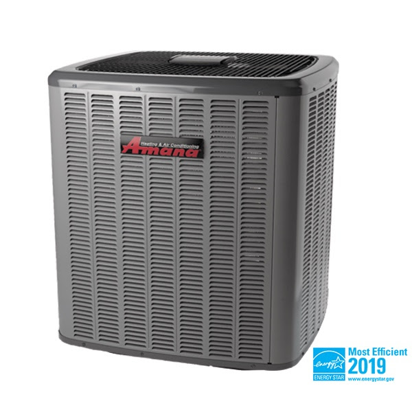 Senergy Heating & Air Conditioning installs Amana AC units
