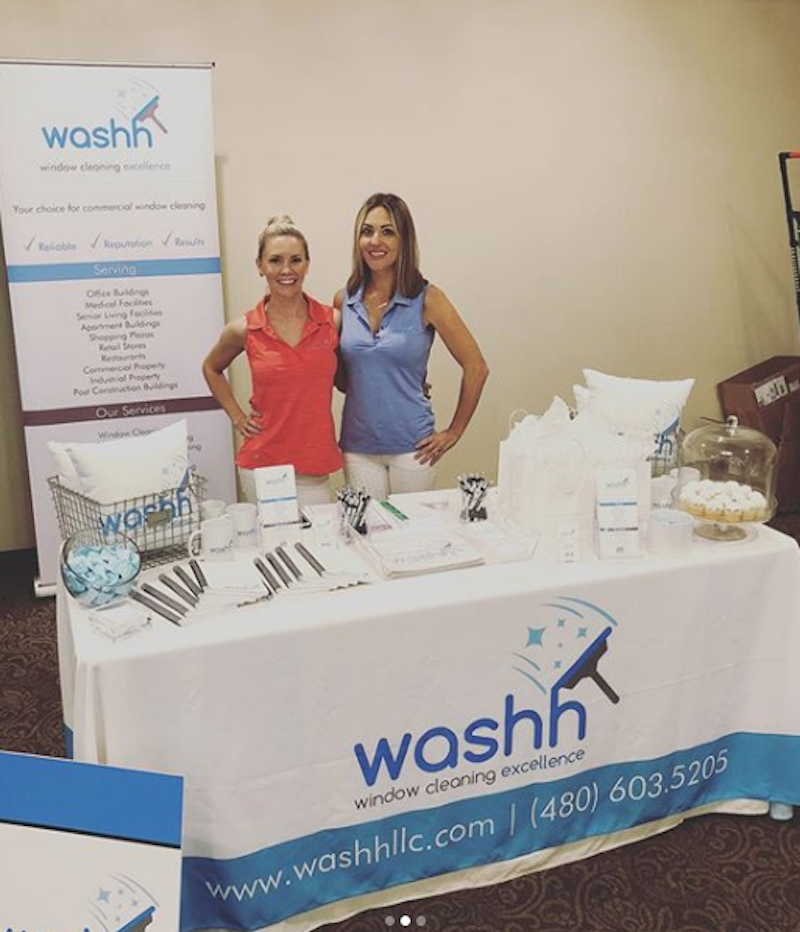 washh event booth