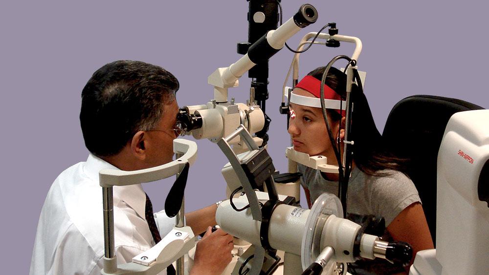 Children eye tests