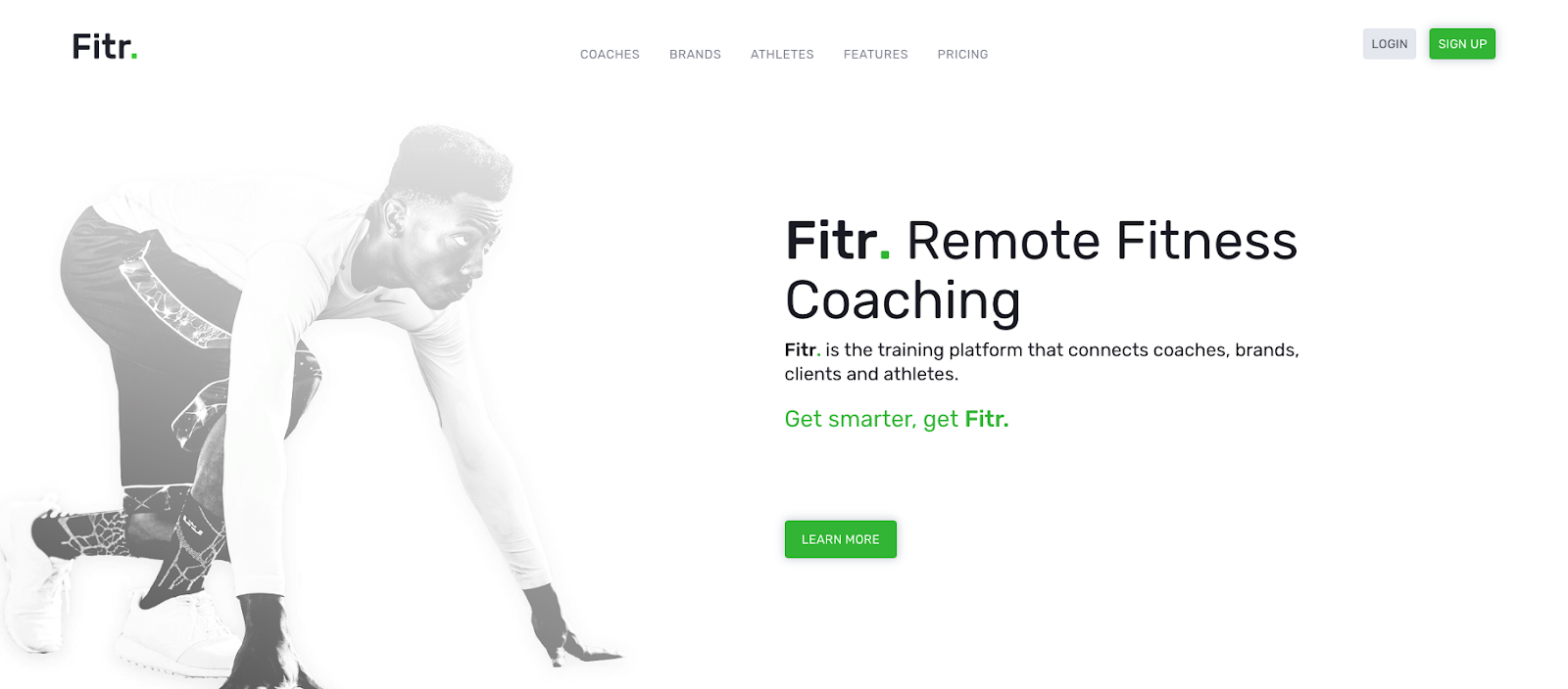 Fitr's new website