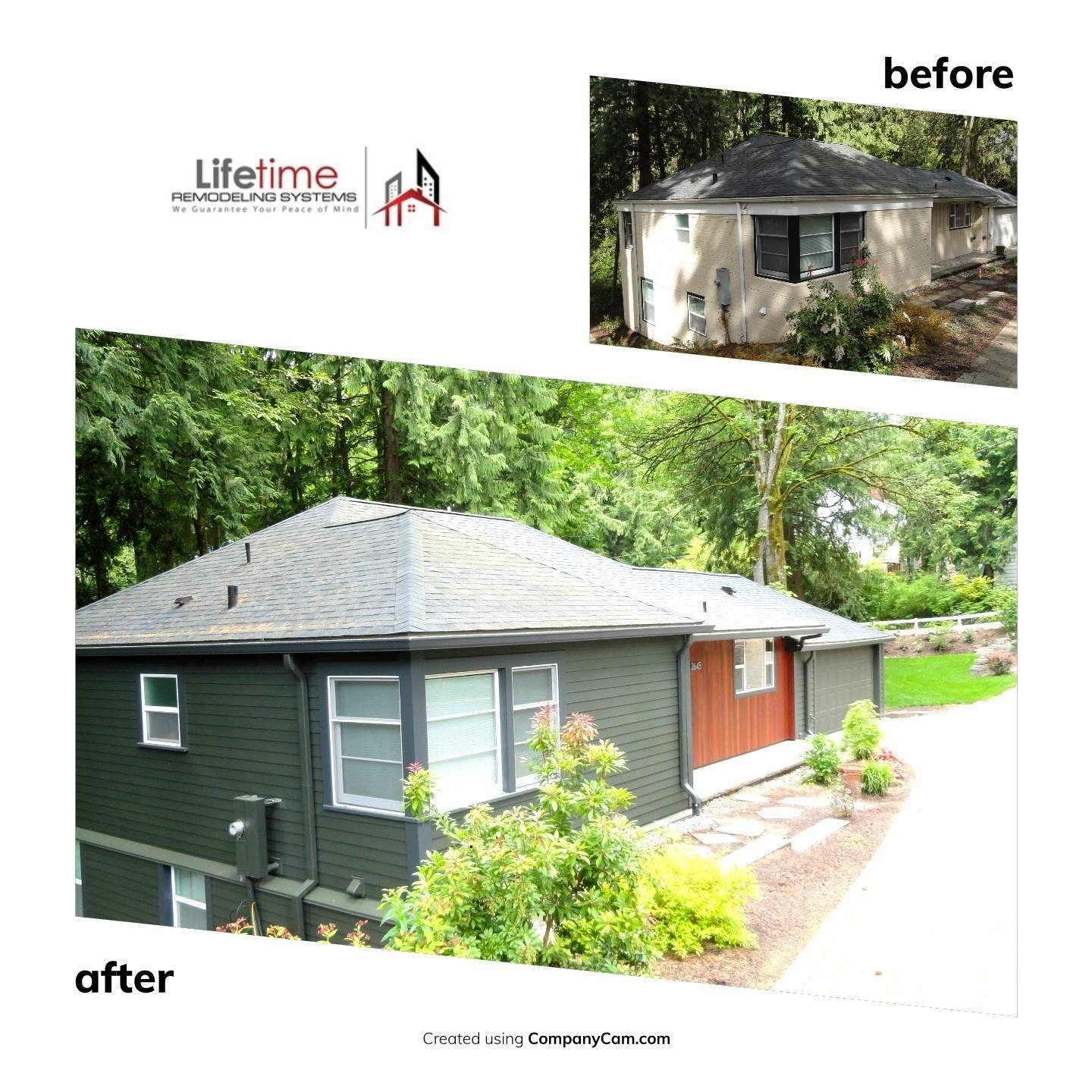HardiePlank Fiber Cement Siding Replacement