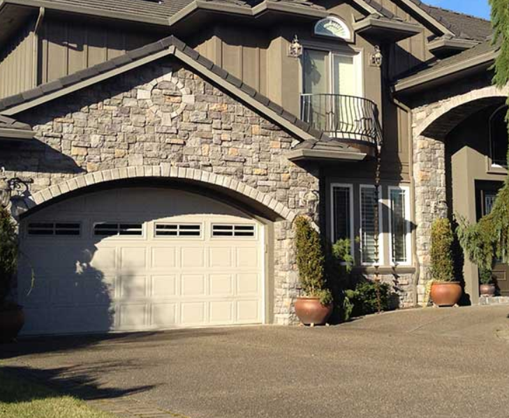 stone siding high end look