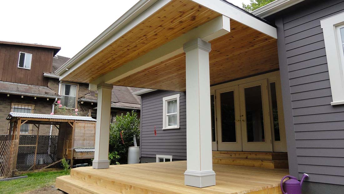 custom porch renovation