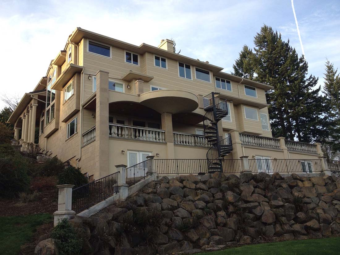 EIFS Replacement | Cedar/Stone Finished