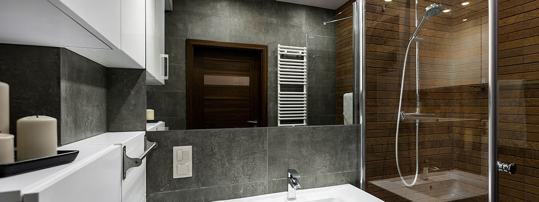 modern bathroom remodel Lifetime Remodeling