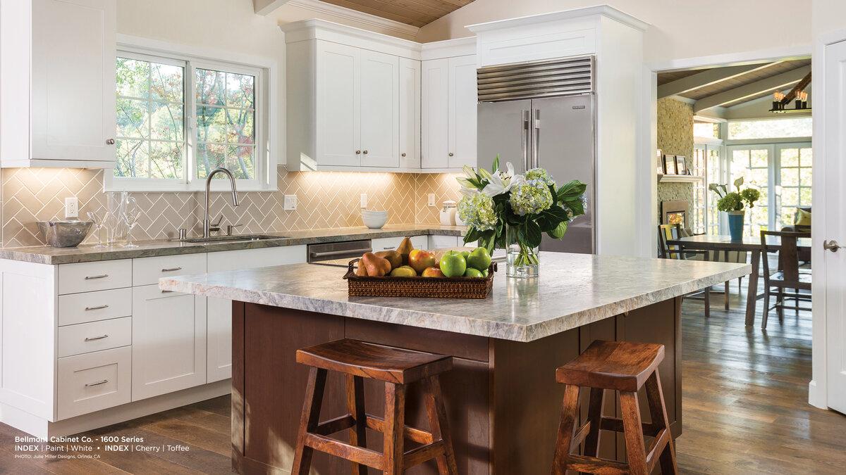 White Cabinets Luxury Kitchen