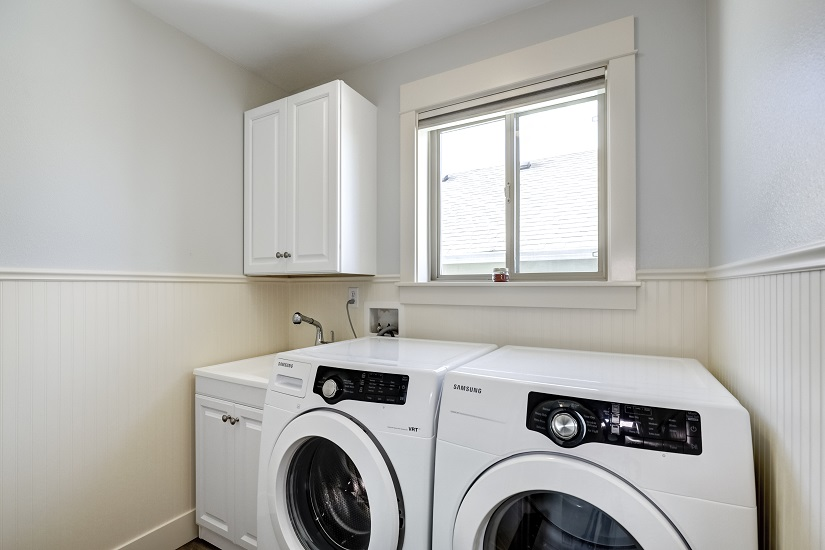Laundry room remodel after