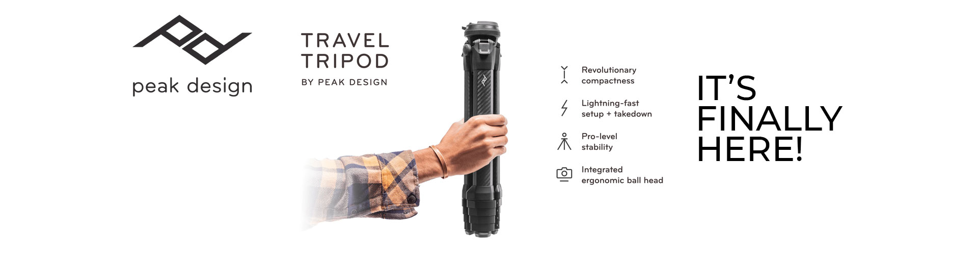Peak Design Travel Tripod is FINALLY here!