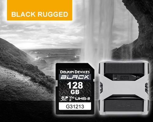 BLACK RUGGED Memory Cards