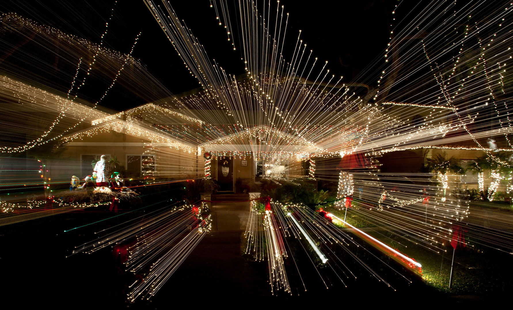Christmas Lights Example #5