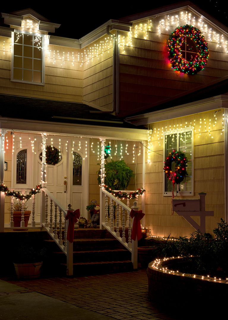 Christmas Lights Example #2