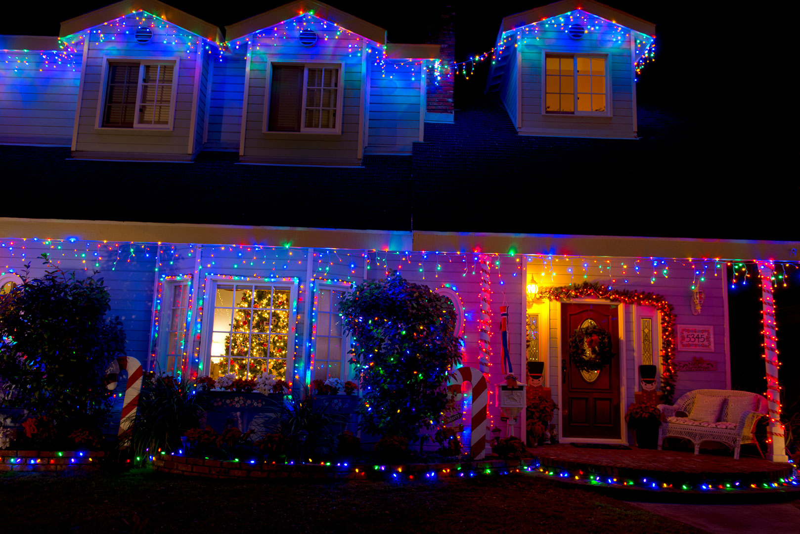 Christmas Lights Example #1