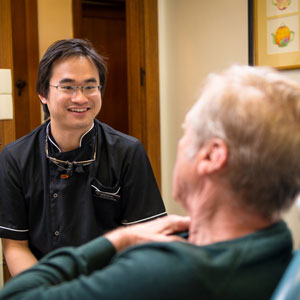 Dr Patrick Wong with Patient at Dentists of Hawthorn