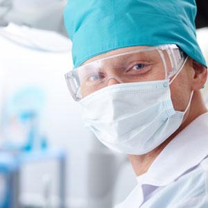 Hawthorn dentist in preparing for filling procedure