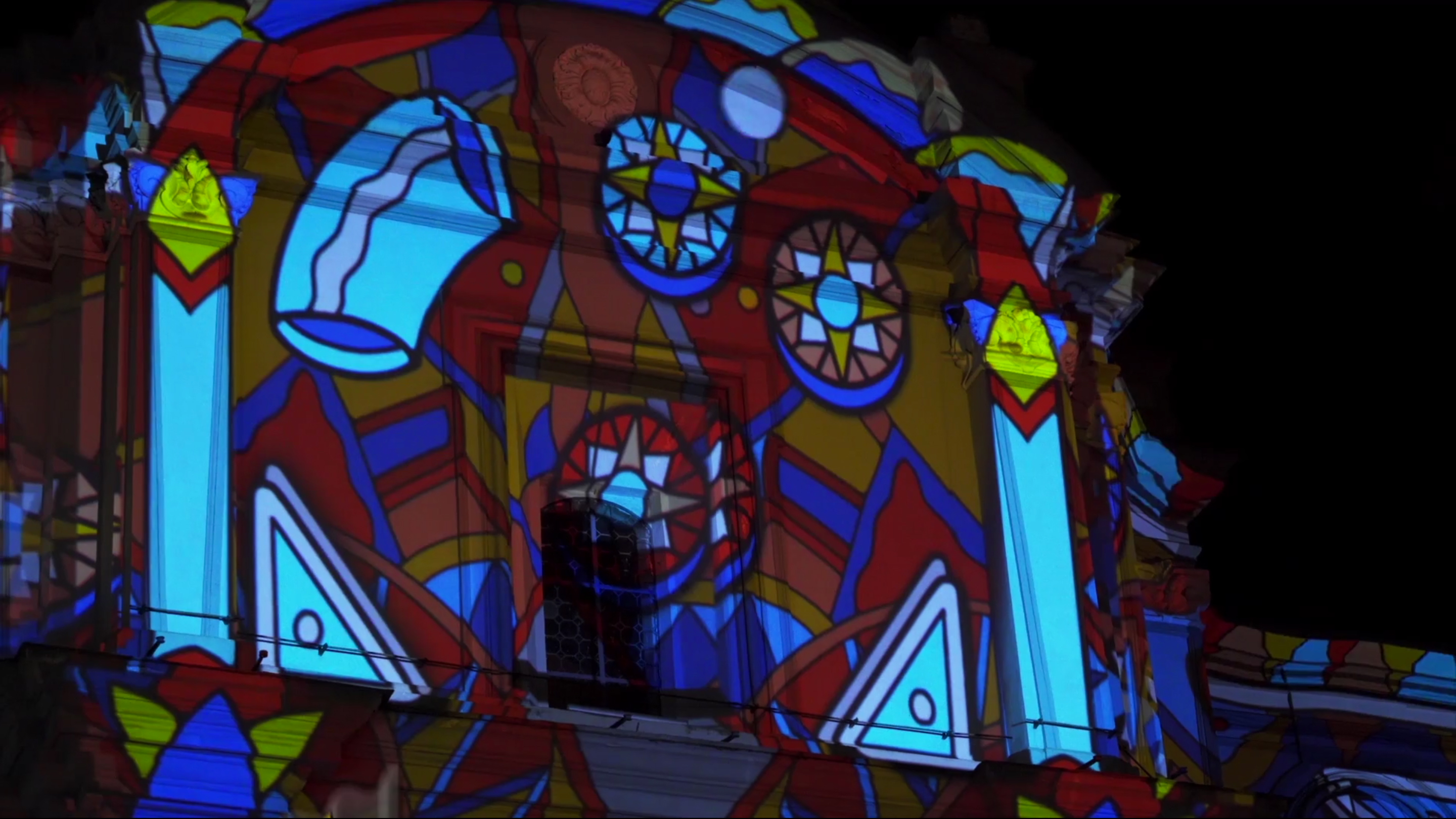The game as an element of cultural regeneration for our video mapping in Rione Sanità, Naples.