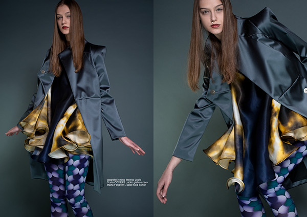 Fashion Editorial for Midfinger Mag