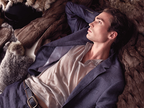 Richard Harris GQ USA Campaign