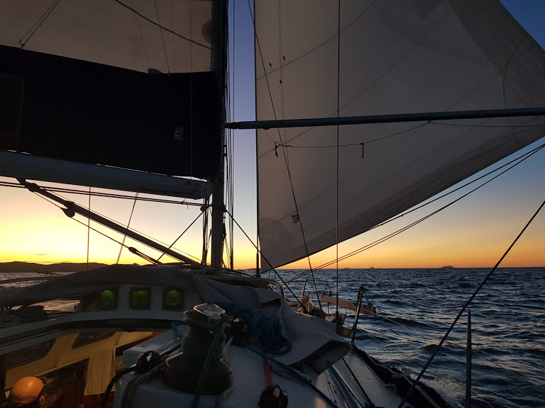 Coastal Skipper course from Brisbane to the Whitsundays