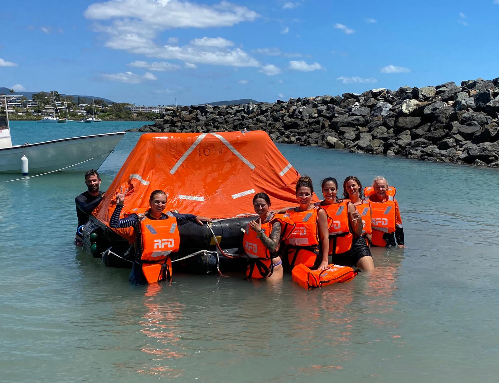 Safety & Sea Survival Course