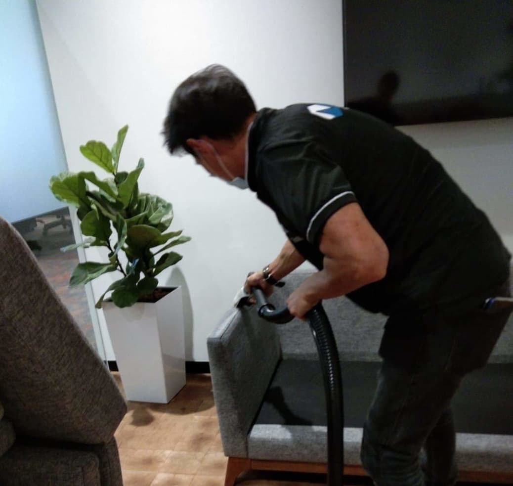 Disinfection and upholstery cleaning during coronavirus period