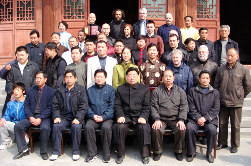 Master Han Jin Song initiated as a disciple of Master Chen Xiao Wang