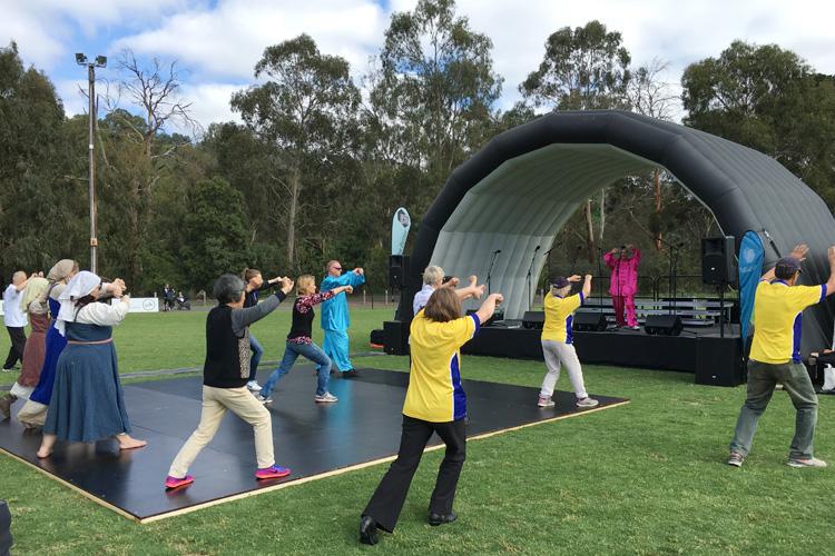 TCA kick starts Rotary Eltham Town Festival