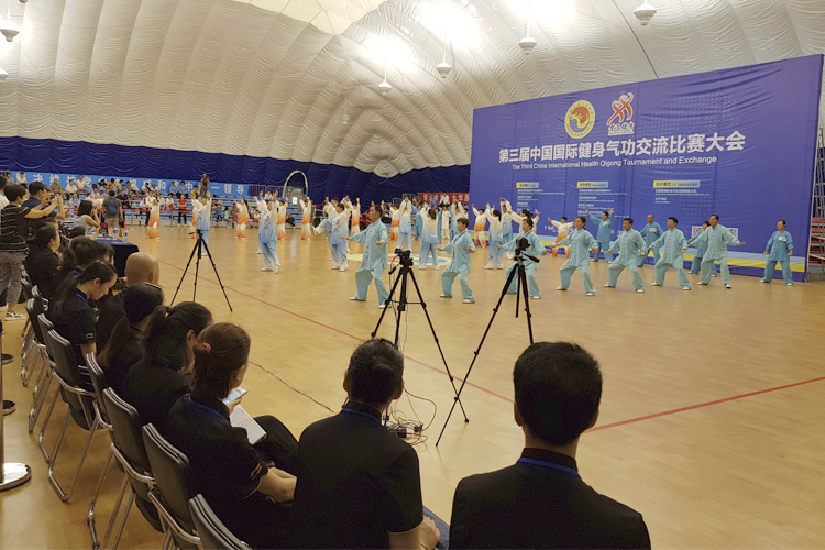 3rd International Health Qigong Tournament and Exchange another success