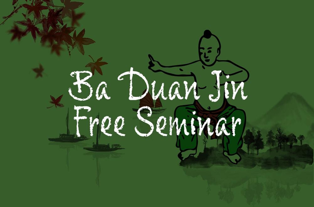 Ba Duan Jin Free Online Seminar