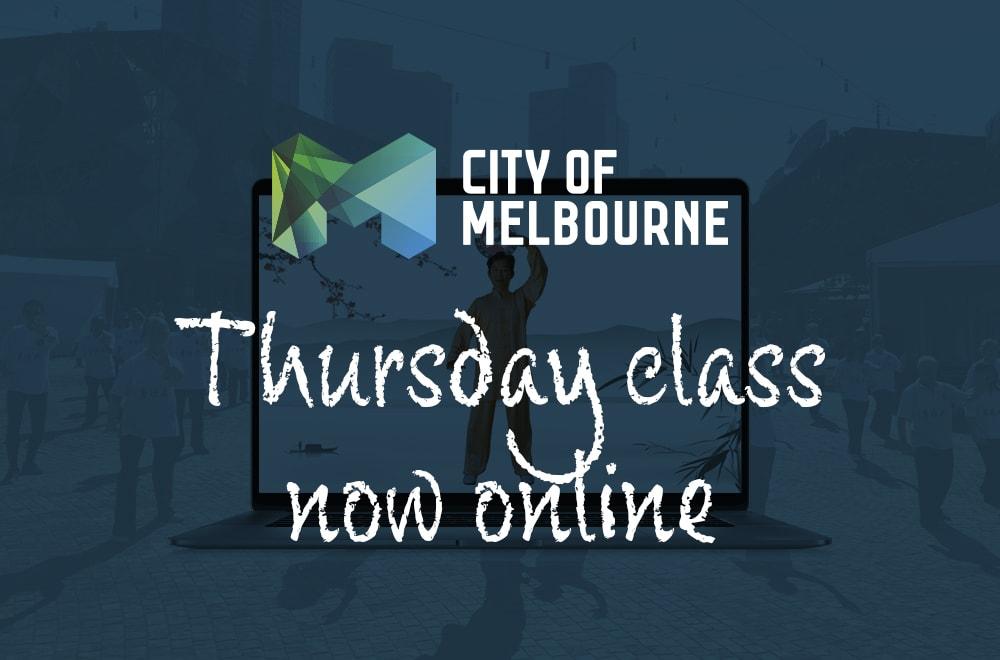 City of Melbourne Thursday class online