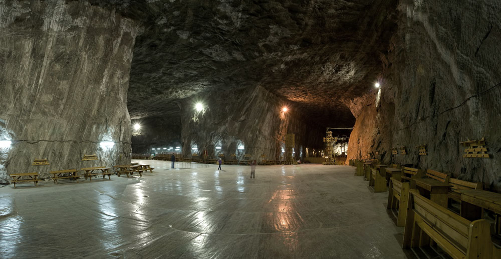 Himalayan salt mine