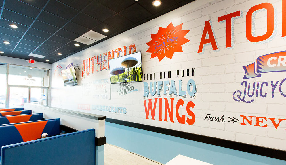 atomic wings interior