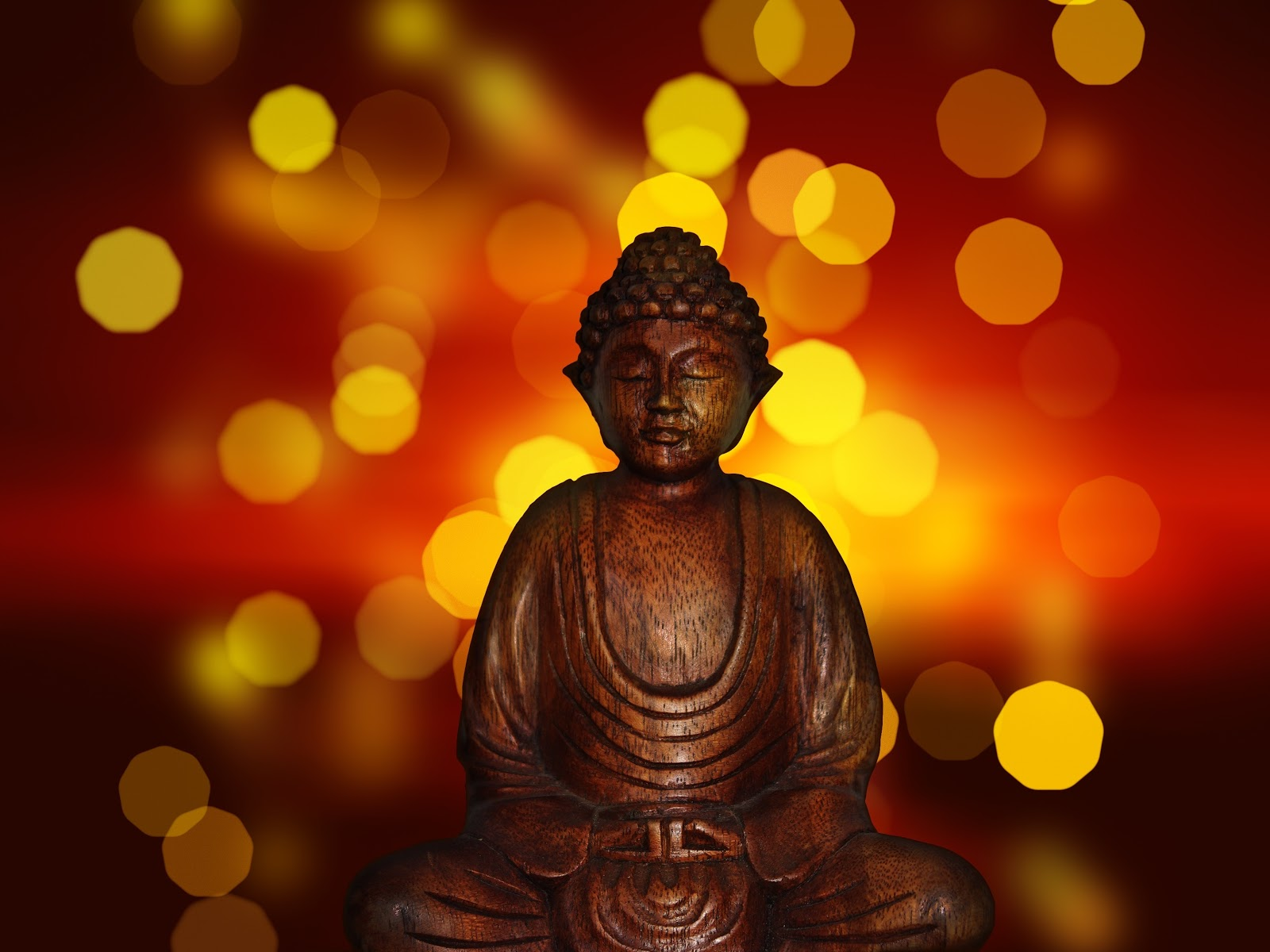 zen buddist statue