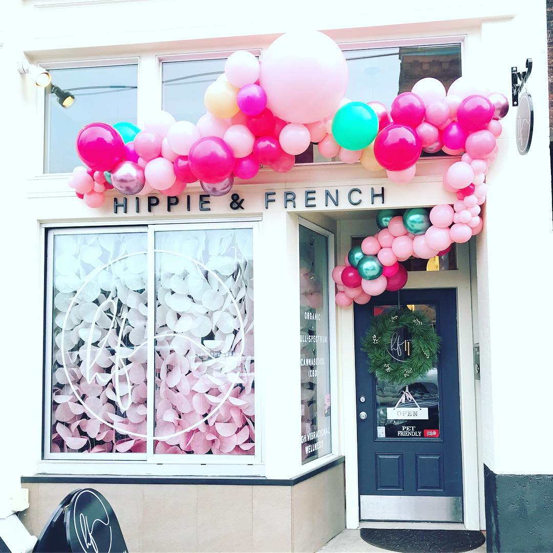 Exterior of Hippie & French