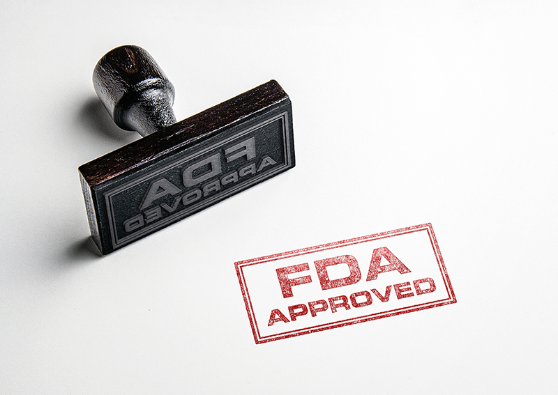 stamp of FDA approval