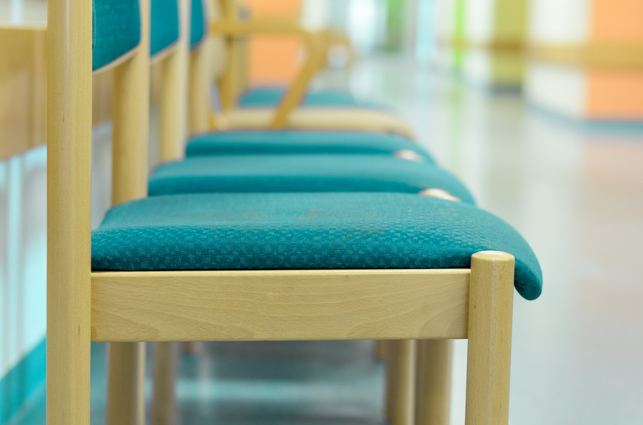 Chairs in a waiting room