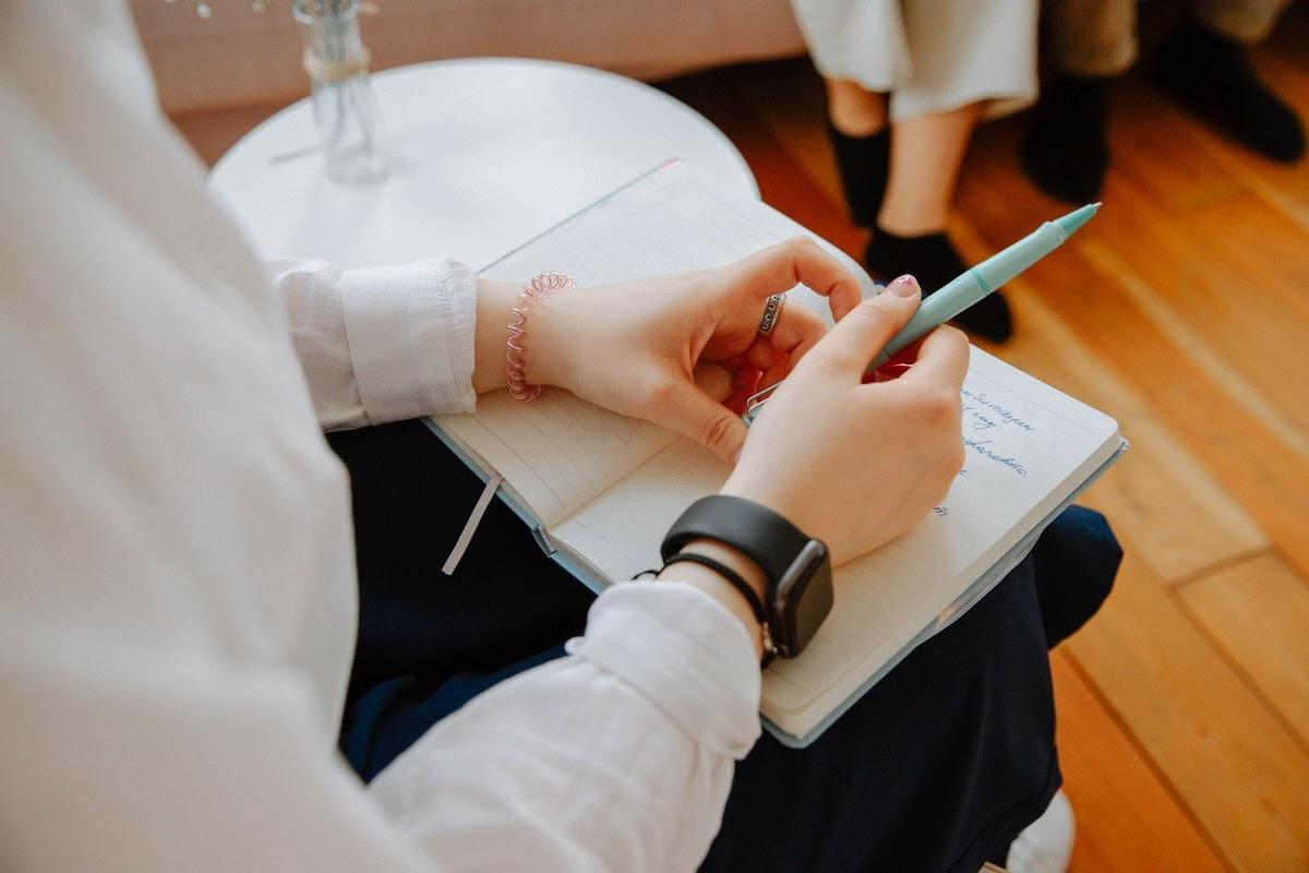 Patient using psychotherapy to enhance TMS